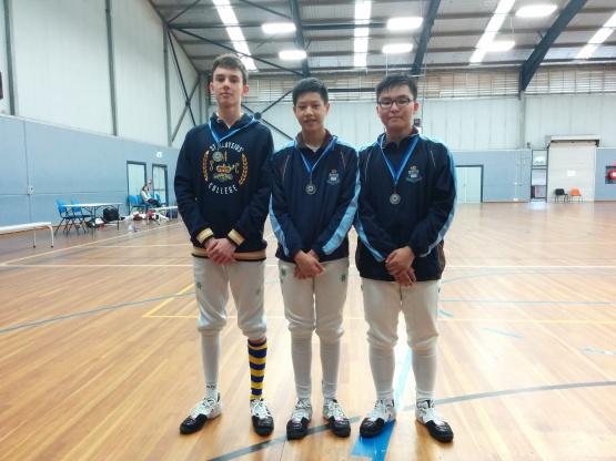 SC_Senior Boys Epee 2016