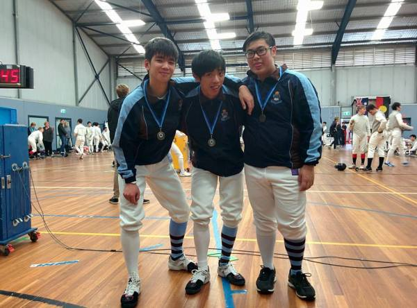Senior Boys Sabre Team