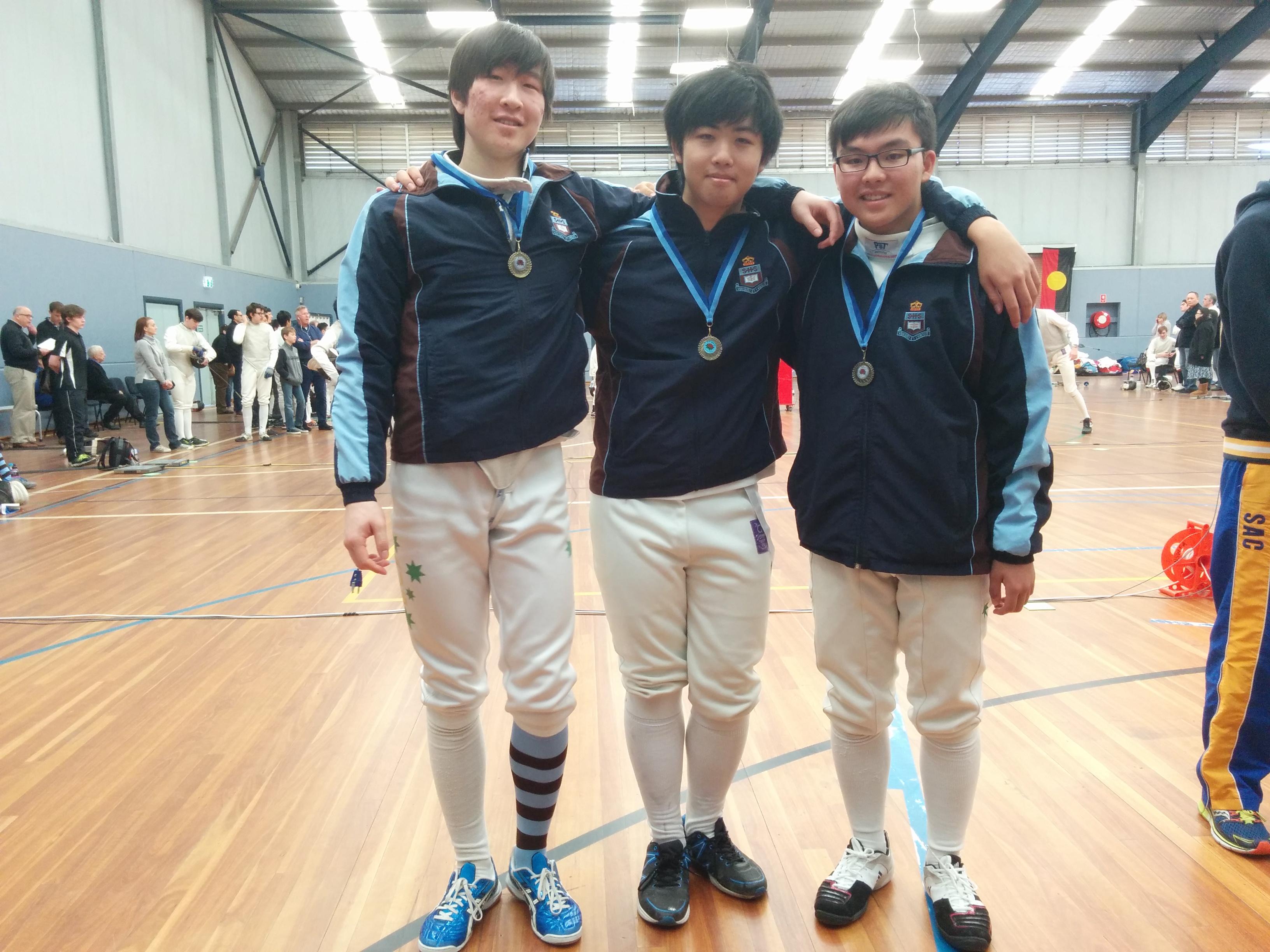 Senior Epee Team 2016