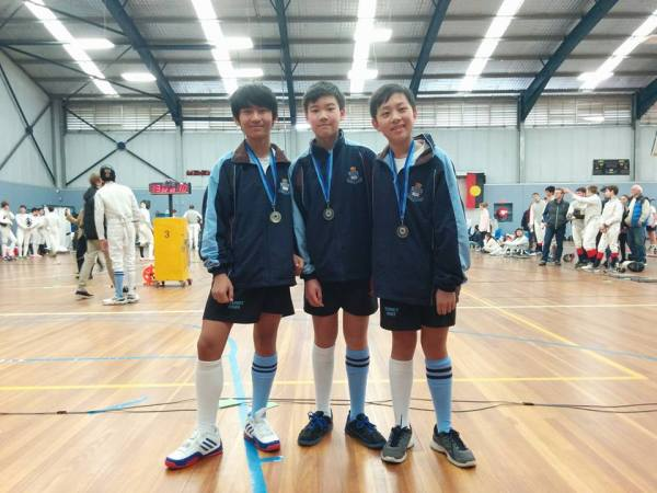 U13 Boys Sabre Team