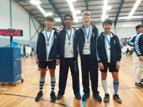 U15 Boys Sabre Team