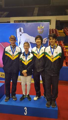 SEA Pacific Championships 2016_John Tian Bronze in Cadet Mens Team Epee