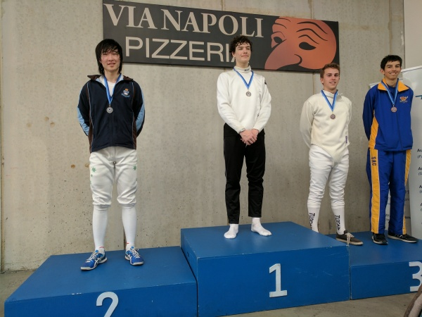 Senior Boys Epee School Champ results_2017