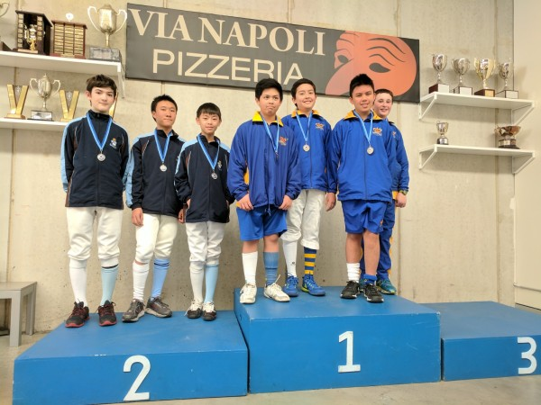U13 Epee Teams School Champ 2017