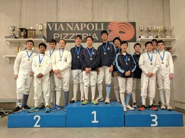 U15 Epee Teams School Champ 2017