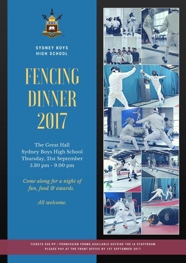 Sydney Boys HS [Fencing Dinner] 2017 JPG
